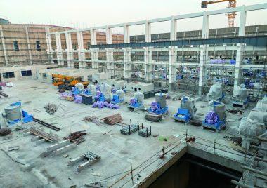 金田纸业100万吨高档灰纸板项目进入安装阶段